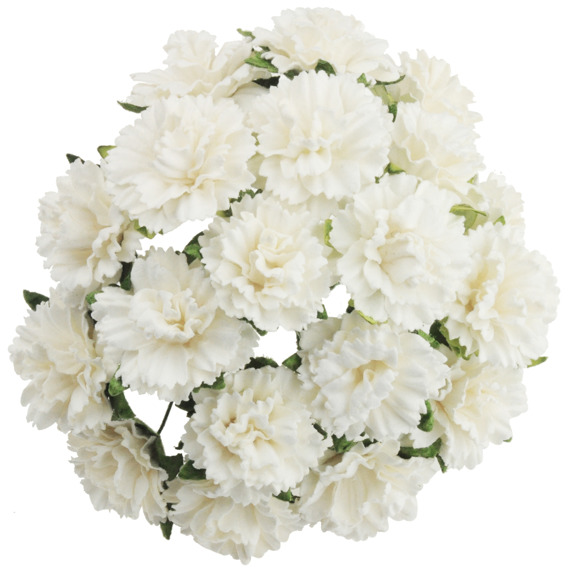 20 white mulberry paper carnation flowers 112818 wild orchid 20 white mulberry paper carnation flowers mightylinksfo