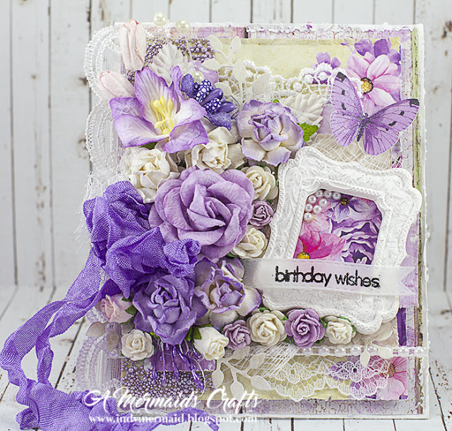 decorative birthday card