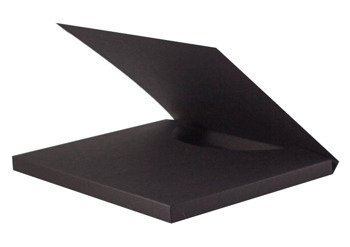 Box for chocolate 16,5 x 20 x 1,3 cm (Merci size) black