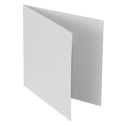 "White base for cards 14x14cm (5.5x5.5"")"