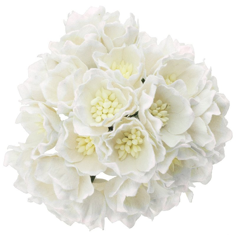 25 white mulberry paper lotus flowers 112809 wild orchid crafts 25 white mulberry paper lotus flowers mightylinksfo