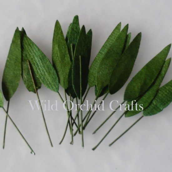 100 GREEN MULBERRY PAPER MEDIUM GRASS