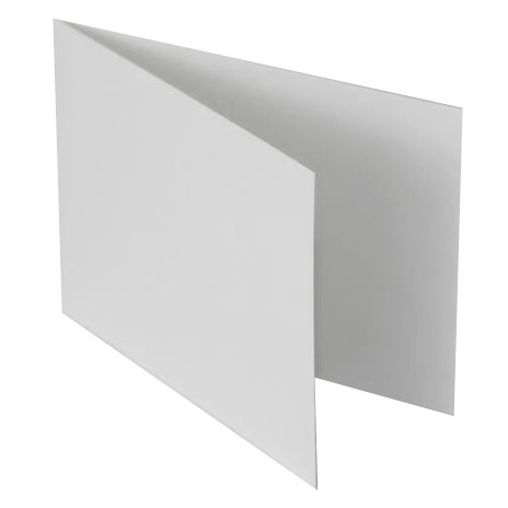 Card base - C6 - vertical - 11,4x16,2 - white
