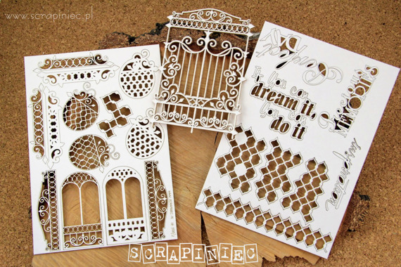 Chipboard Album Workshop Kit - Alamor