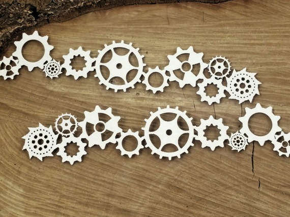 Chipboard - Borders - Steampunk