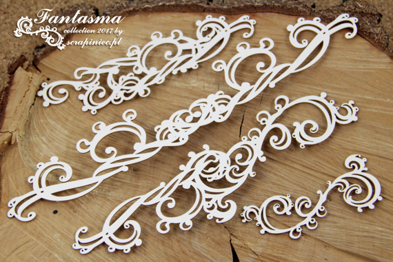 Chipboard - Fantasma - Embellishments XL