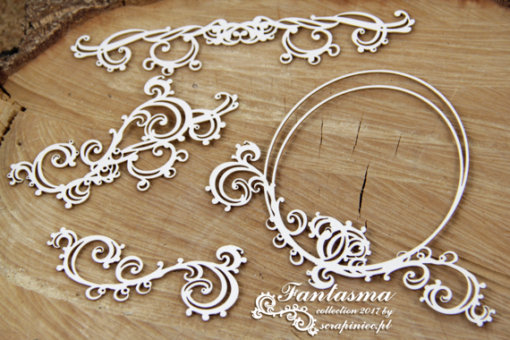 Chipboard - Fantasma - Frame And Borders