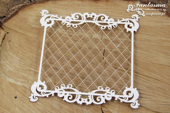 Chipboard - Fantasma - Frame With Mesh