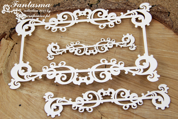 Chipboard - Fantasma - Frame XL