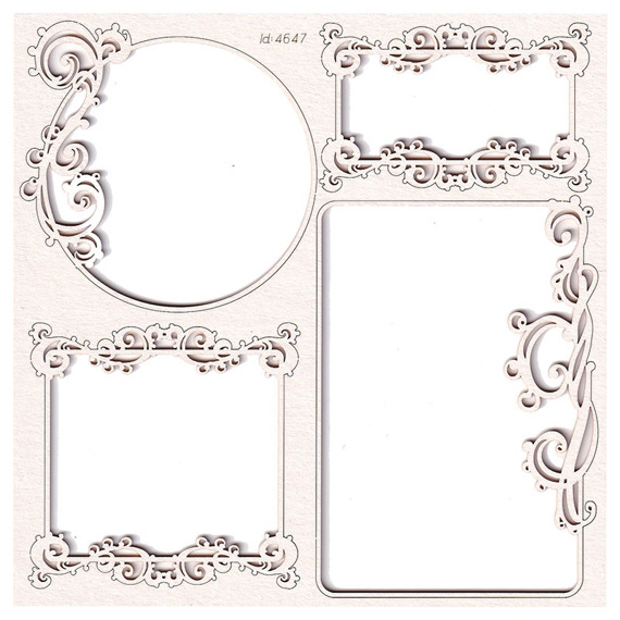 Chipboard - Fantasma - Small Frames