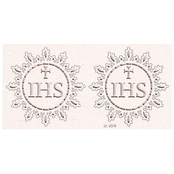 Chipboard - Host big 01 - Tatting Communion