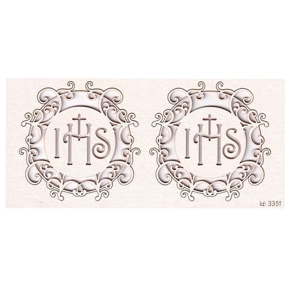 Chipboard - Host big 02 Innocence (2 pcs)