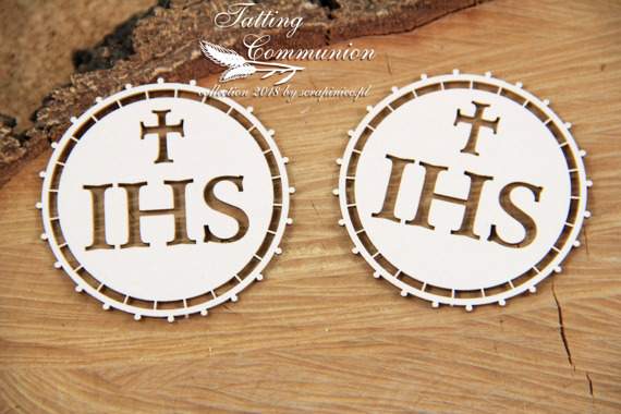 Chipboard Host big 02 - Tatting Communion
