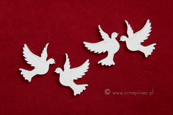 Chipboard Little pigeons