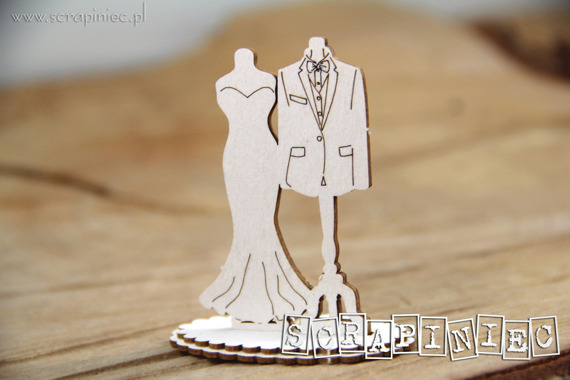 Chipboard  - Love in 3D - small models 3D