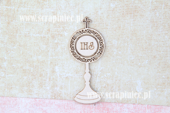 Chipboard - Ornament Monstrance 02
