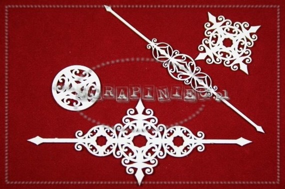 Chipboard - Ornaments