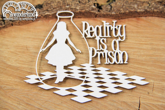 Chipboard - Reality is a prison 01 - Alice in Wonderland
