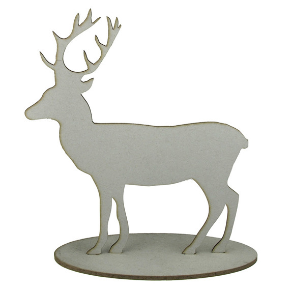 Chipboard -  Reindeer On The Stand