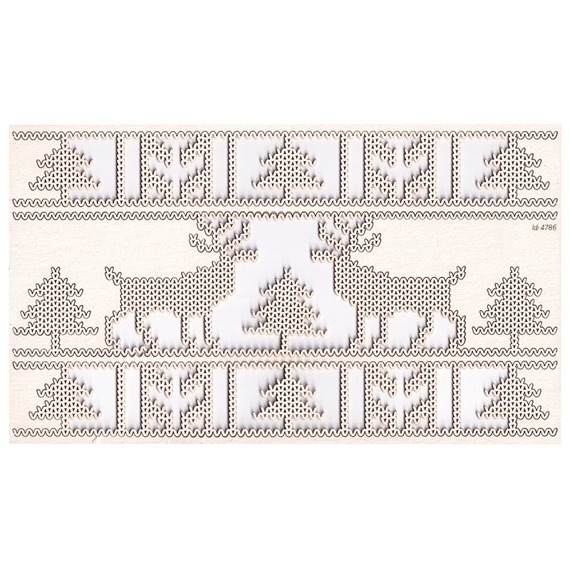 Chipboard Reindeers XL - Nordic sweater