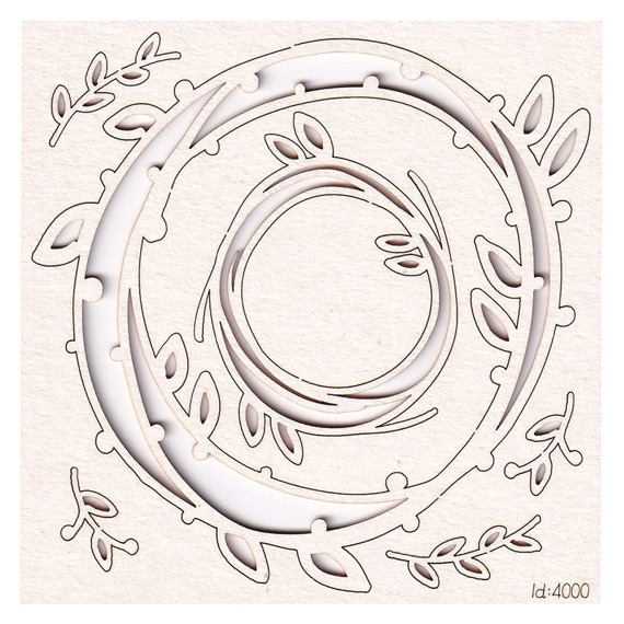 Chipboard - Spring Prodigy - Wreaths 2