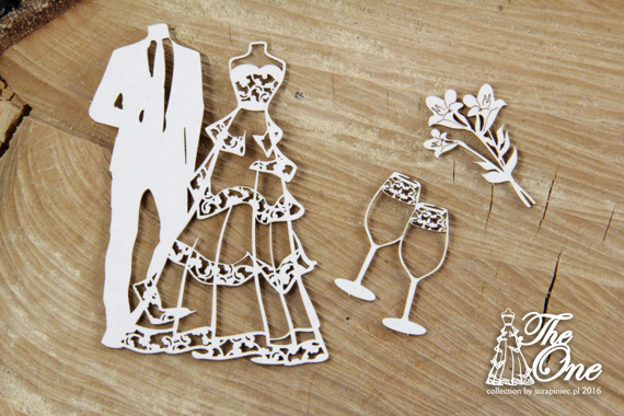 Chipboard The one - Small Set - Wedding