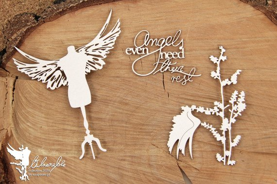 Chipboard - Vulnerable - Angels need their rest - Big - Scrapiniec