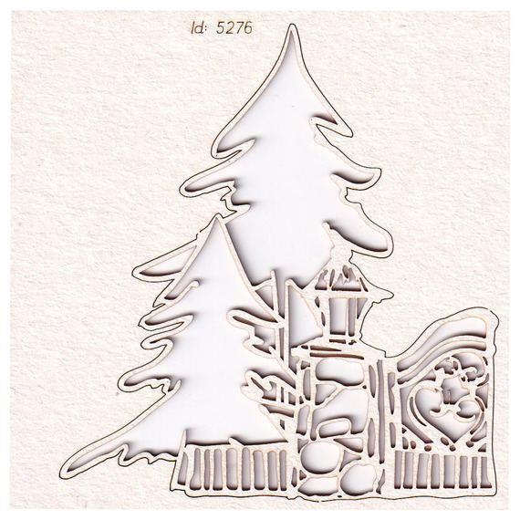 Chipboard - Winter At The Gates - decor 01