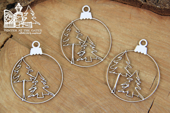 Chipboard - Winter at the gates - Baubles