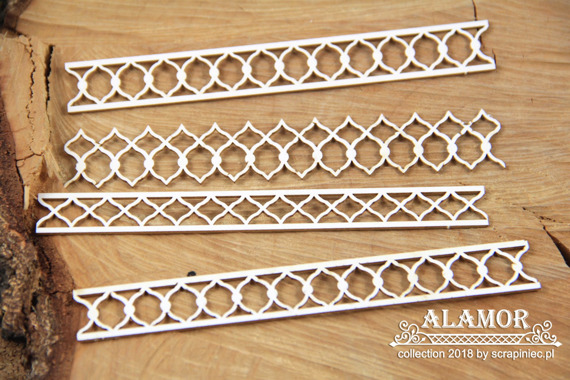 Chipboard borders 02 - Alamor