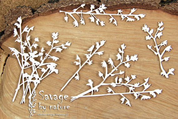 Chipboard branches big 01 - Savage by Nature