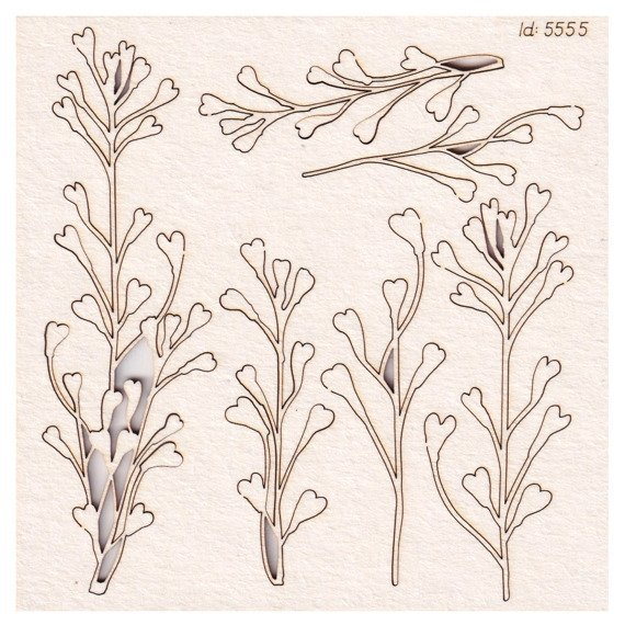 Chipboard branches small 04 - Savage by Nature