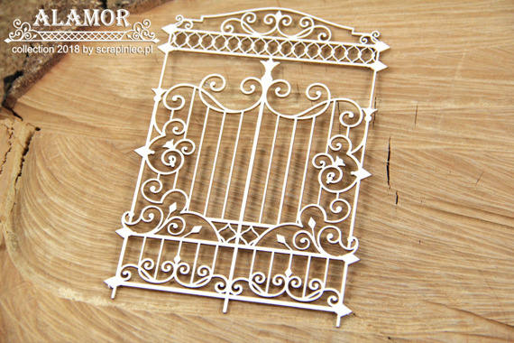 Chipboard gate - Alamor