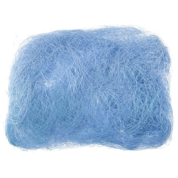 Decoration sisal fiber - blue