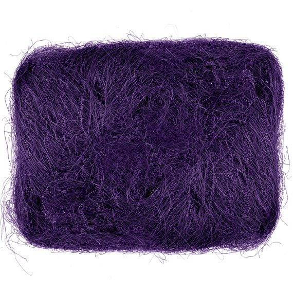 Decoration sisal fiber - purple