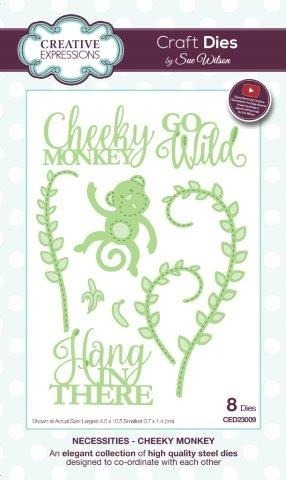 Die - Creative Expressions - Cheeky Monkey