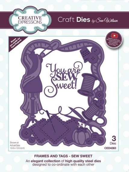 Die - Creative Expressions - Sew Sweet Frame