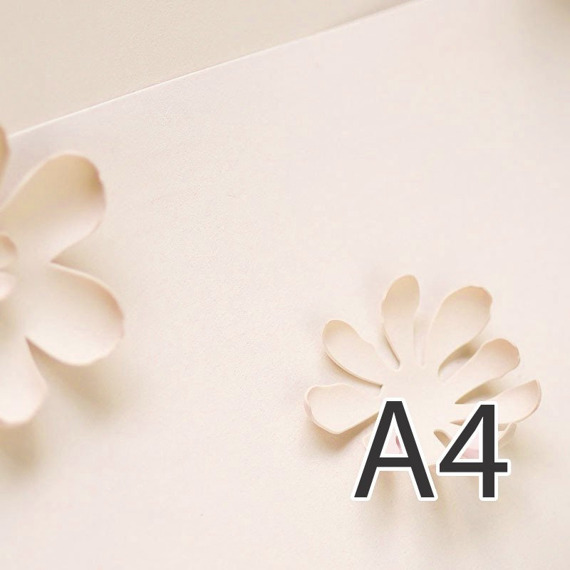 Foamiran – flower making foam for handmade flowers - A4 - 106 rose mist