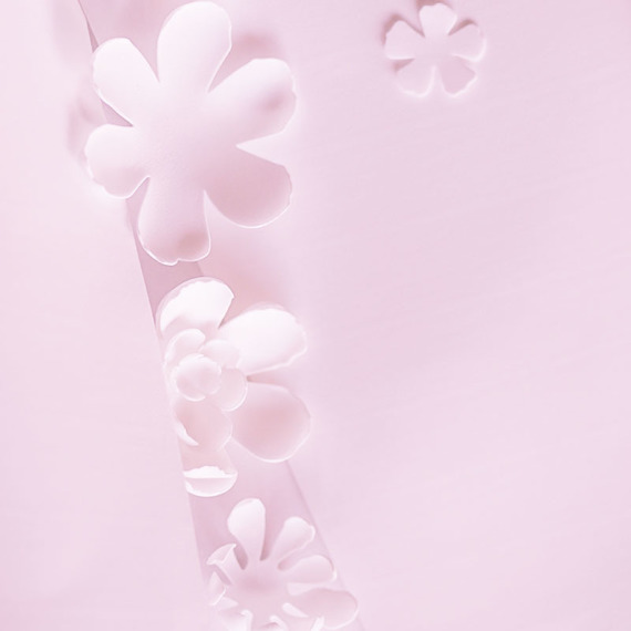 Foamiran – flower making foam for handmade flowers - A4 - 142 pastel pink