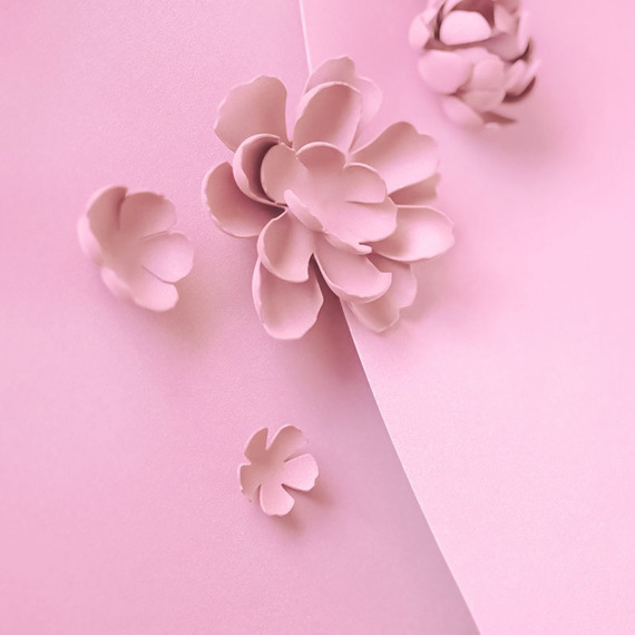 Foamiran – flower making foam for handmade flowers - A4 - 148 pink
