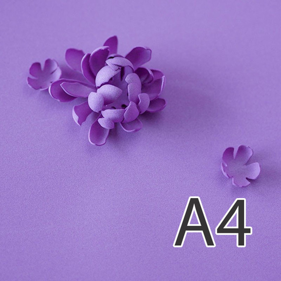 Foamiran – flower making foam for handmade flowers - A4 - 157 lavender