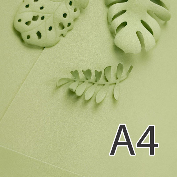 Foamiran – flower making foam for handmade flowers - A4 - 173 light olive