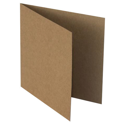 "Kraft base for cards 14x14cm (5.5x5.5"")"