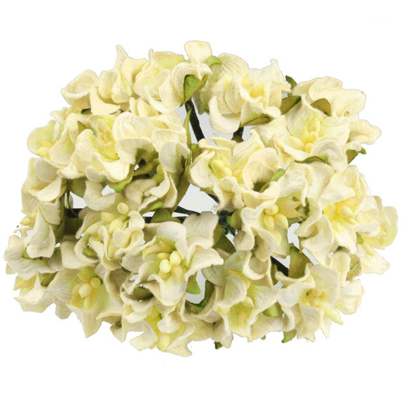 LIGHT YELLOW MINI GARDENIAS