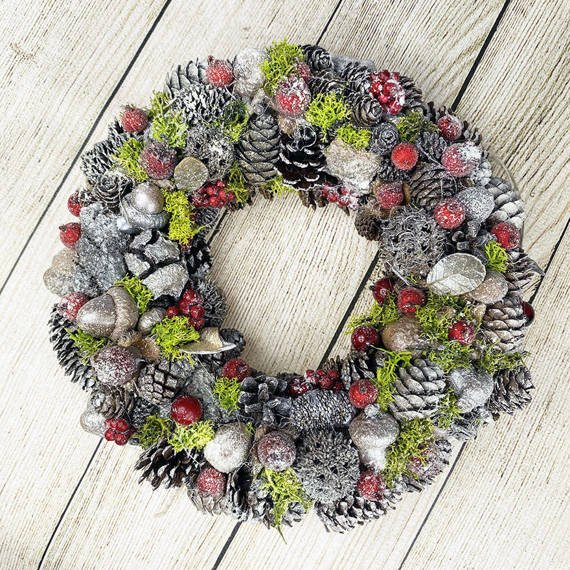 Reindeer Moss Dried Craft Decoration