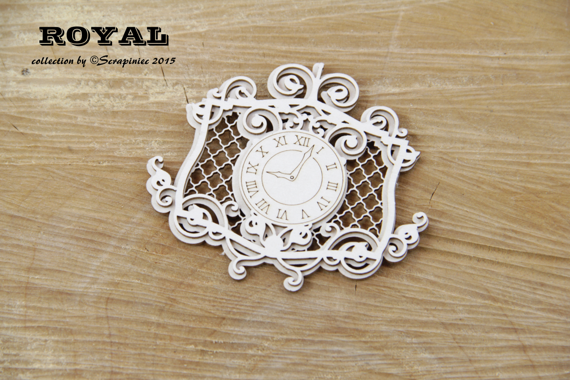 Royal Embellishment Clock
