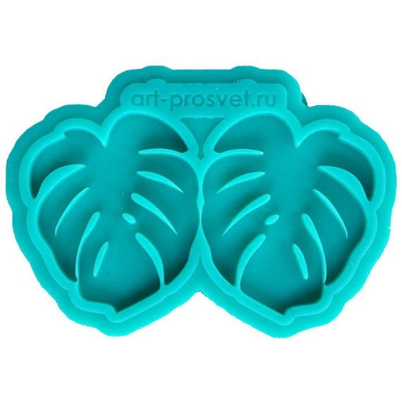Silicone mold - Prosvet - Monstera leaf (XS)
