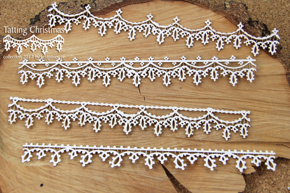 Tatting Christmas - borders XL