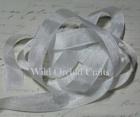 VINTAGE SEAM BINDING RIBBON - WHITE