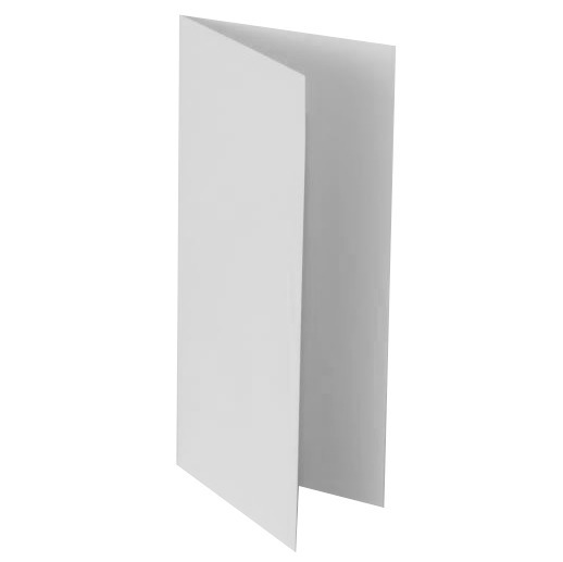 "White base for cards 10x21 cm (4x8.3"")"